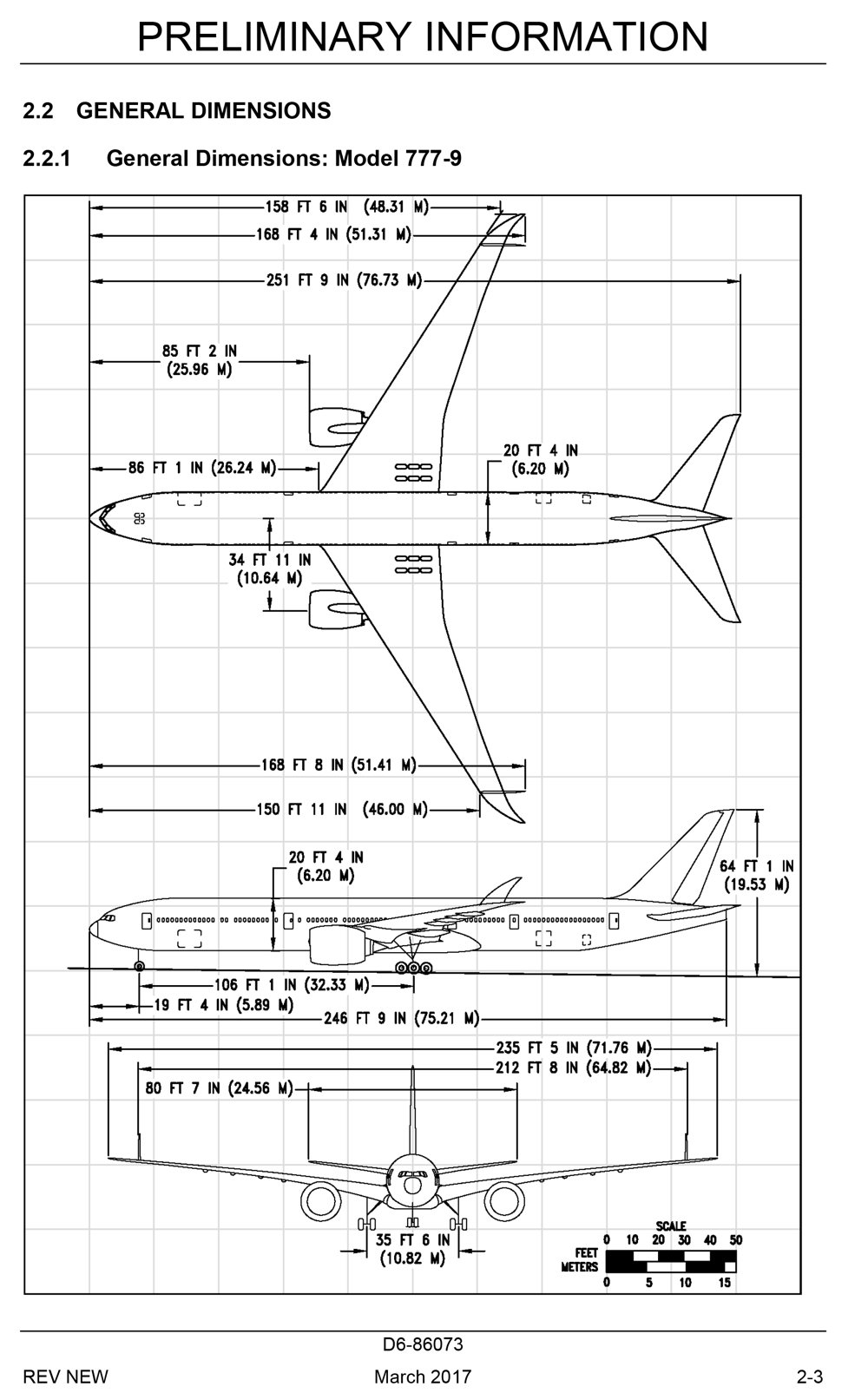 Boeing Details Interior Arrangement Of The 777-9