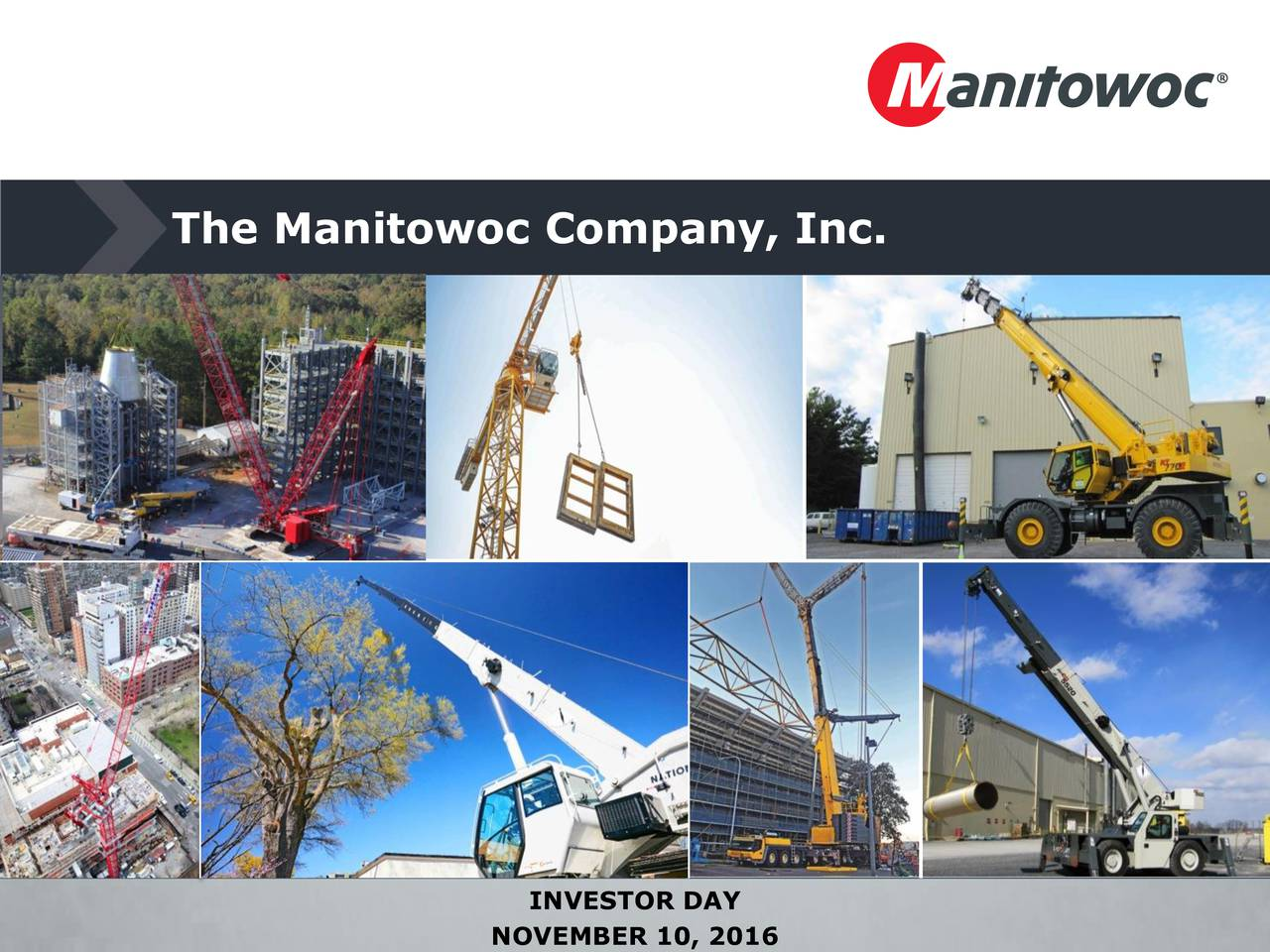 manitowoc machine company
