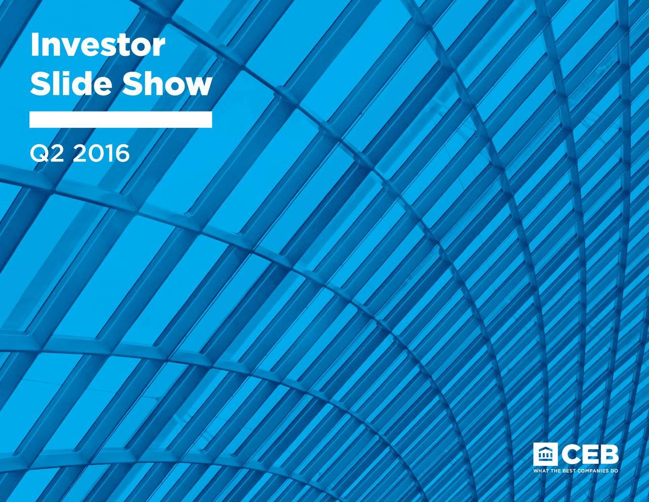 Slide Show Q2 2016