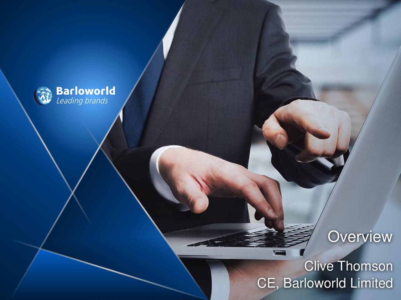 Clive Thomson CE, Barloworld Limited