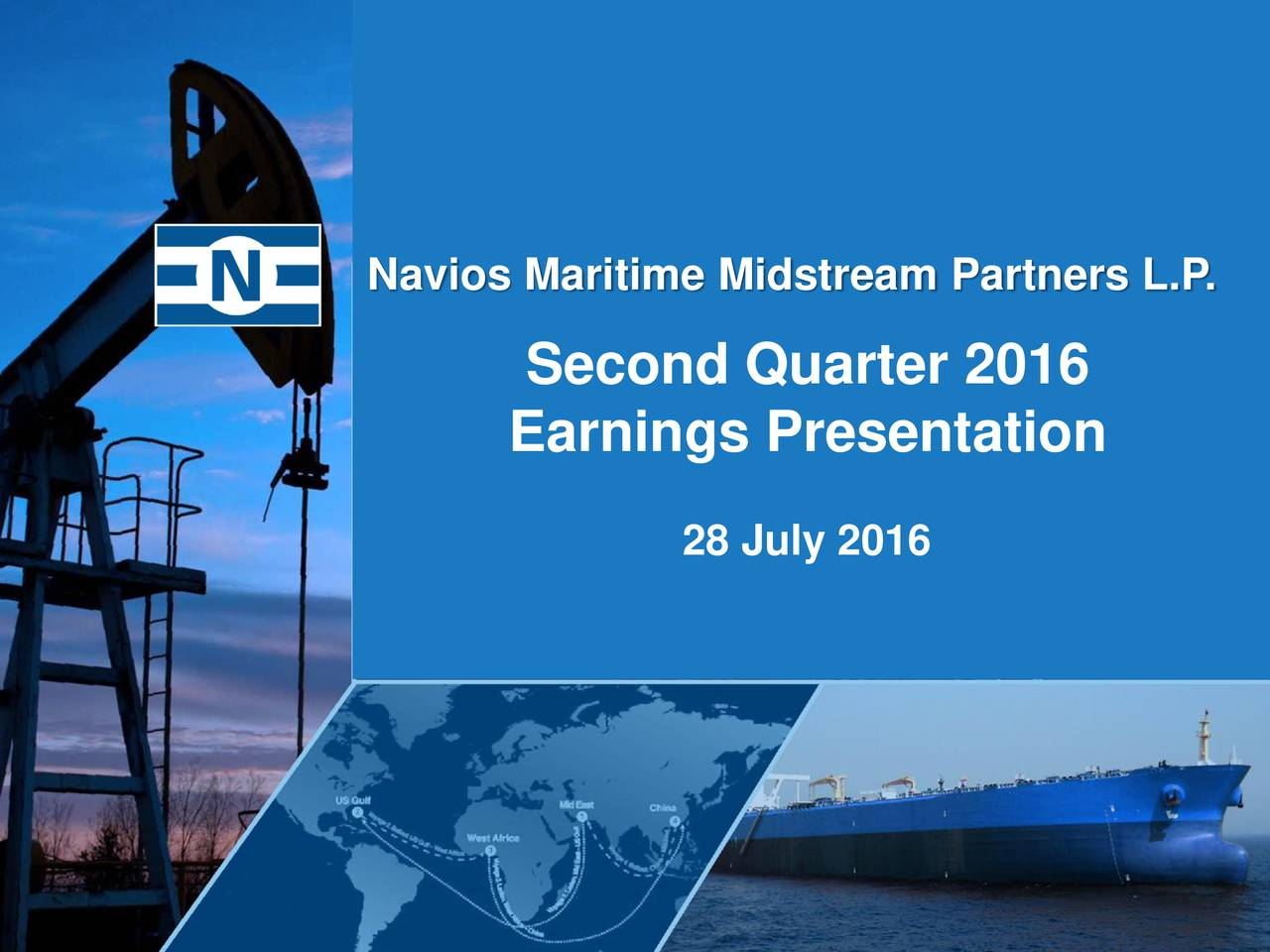 Second Quarter 2016 Earnings Presentation 28 July 2016