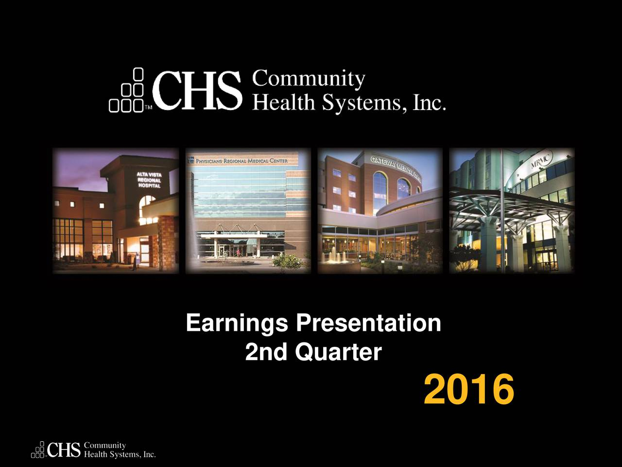 2nd Quarter 2016