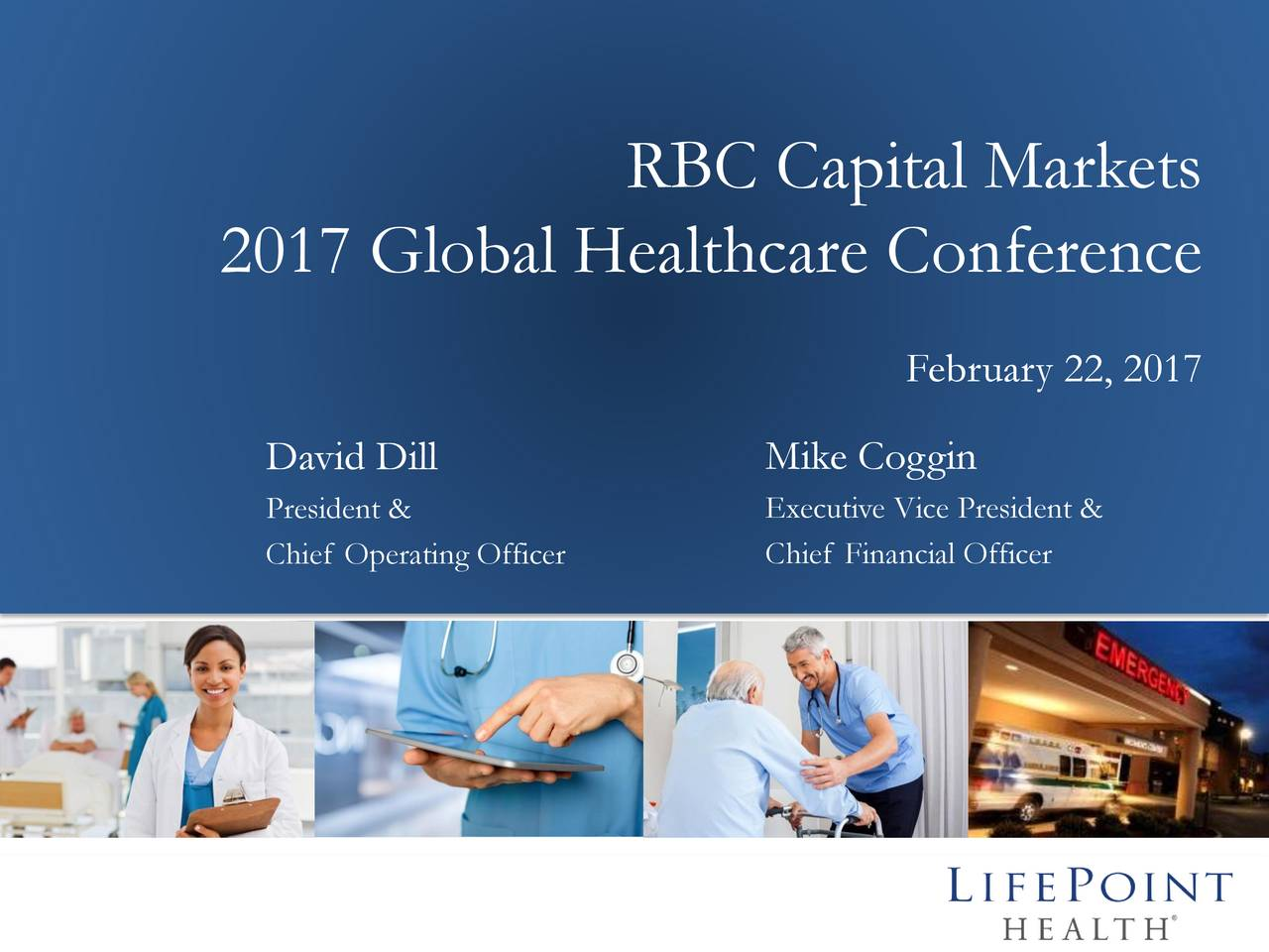 LifePoint Health (LPNT) Presents at RBC Capital Markets ...